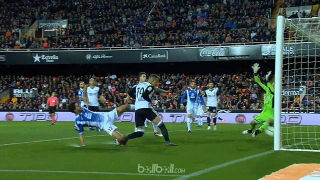 Valencia kalahkan Espanyol 1-0 dan naik ke peringkat tiga klasemen sementara La Liga meski seharusnya bisa menang dengan skor lebi...