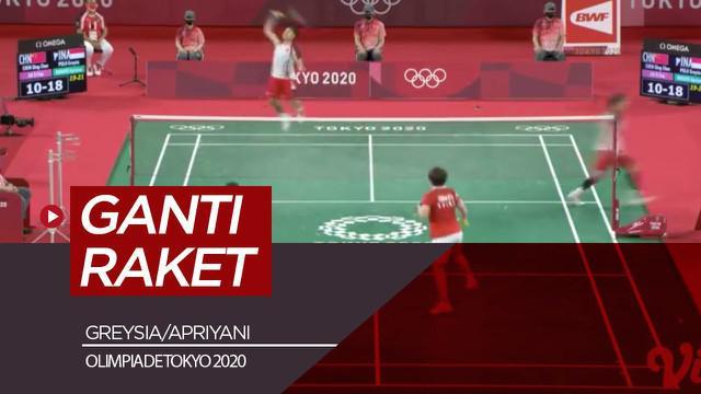 Berita video highlights Greysia Polii/Apriyani Rahayu Vs Chen/Jia Yifan, Senin (2/8/21)