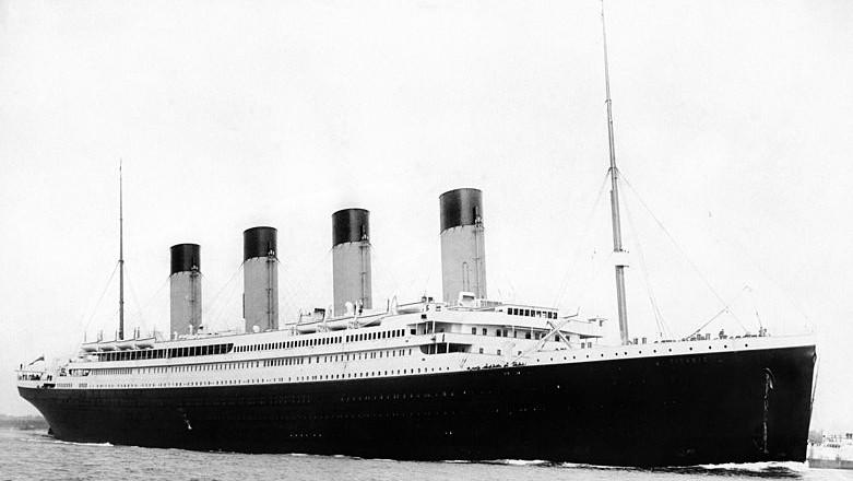 RMS Titanic (Wikimedia Commons)