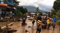 Banjir bandang dan longsor terjang Adonara-Flores Timur, Nusa Tenggara Timur. (Liputan6.com/ Dionisius Wilibardus)