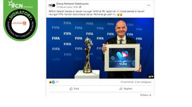 Klaim Vtube Berada di Bawah Naungan FIFA