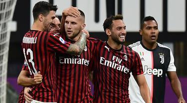 Epic Comeback, AC Milan Kalahkan Juventus