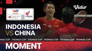 VIDEO: Momen Spesial Saat Indonesia Raih Gelar Juara Piala Thomas 2020 Usai Bungkam China 3-0
