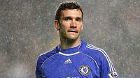 Pose striker Chelsea asal Ukraina, Andriy Shevchenko. (The Times)