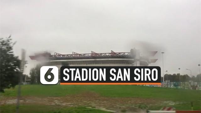 Reporter Liputan6.com Marco Tampubolon berkesempatan mengunjungi stadion San Siro yang merupakan kandang 2 klub sepakbola dunia AC Milan dan Inter Milan.