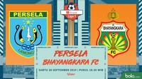 Shopee Liga 1 - Persela Lamongan Vs Bhayangkara FC (Bola.com/Adreanus Titus)