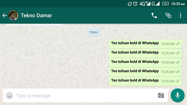 Cara Mudah Ubah Font Percakapan Di Whatsapp Tekno Liputan6 Com