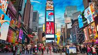 Suasana Time Square Kota New York (iStockphoto)
