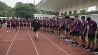 Ketua PSSI, Mochamad Iriawan sedang memantau pemusatan latihan Timnas Indonesia U-19. (PSSI).