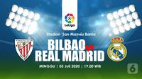 BILBAO VS REAL MADRID  (Liputan6.com/Abdillah)