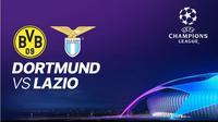 Saksikan Live Streaming Liga Champions Borussia Dortmund Vs Lazio.