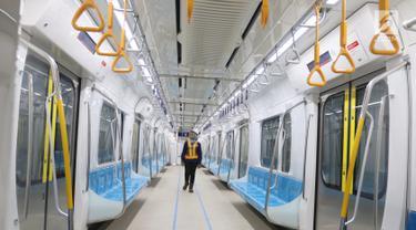 Bulan Depan Masyarakat Bisa Ikut Uji Coba MRT