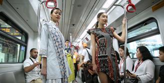 Fashion Show di LRT (Adrian Putra/Fimela.com)