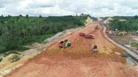 Proyek Jalan Tol Balikpapan-Samarinda. (Dok Jasamarga Balikpapan Samarinda).