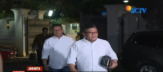 Partai Koalisi Indonesia Kerja gelar konsolidasi bersama perwakilan relawan pendukung Jokowi-Ma'ruf.