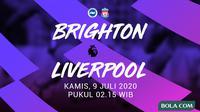 Premier League - Brighton Vs Liverpool (Bola.com/Adreanus Titus)