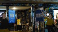 Ajang pasar kreatif bertajuk POP MARKET. Di gelaran ini DANA menghadirkan program cashback 50 persen.