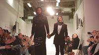 Gebrakan besar industri modest fashion dalam London Modest Fashion Week 2018 datang dari HIJUP dengan mengakuisisi Haute Elan. (Liputan6.com/Pool/HIJUP)