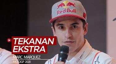 Berita video pembalap Repsol Honda, Marc Marquez, mengungkapkan menyukai tekanan ekstra yang ada di MotoGP untuk mempertahankan gelar.