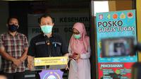 Juru Bicara Gugus Tugas Percepatan Penanganan Covid-19 Provinsi Gorontalo dr. Triyanto Bialangi(Foto:Arfandi ibrahim/Liputan6.com)