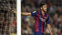 Bintang Barcelona Neymar (Lluis Gene/Files/AFP)