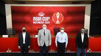 Peluncuran Logo Piala Asia Basket 2021 yang Dihiasai Corak Batik