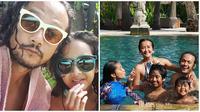 Momen keseruan Dwi Sasono dan keluarga saat liburan. (Sumber: Instagram/@dwisasono)