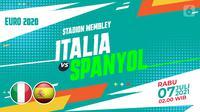 Italia vs Spanyol (Liputan6.com/Abdillah)
