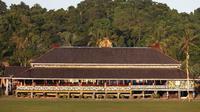Potret rumah di Desa Setulang di Kabupaten Malinau, Provinsi Kalimantan Utara. (dok. malinau.go.id)