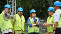 Peresmian jaringan telekomunikasi proyek USO di salah satu site yang berada di Desa Purui, Kecamatan Jaro, Kabupaten Tabalong, Kalimantan Selatan (Foto: XL)