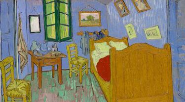 "Lukisan Van Gogh yang berjudul ""The Bedroom"""