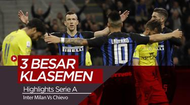 Berita Video Highlights Serie A, Inter Milan Muluskan langkah ke Liga Champions.