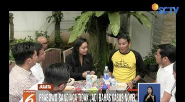 Kepada media, Sandi mengaku bersyukur pelaksanaan debat tadi malam berjalan lancar.