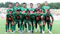 Kepolisian Republik Indonesia memiliki saham 39 persen di Bhayangkara Surabaya United. (Bola.com/Fahrizal Arnas)