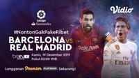 Saksikan Live Streaming El Clasico, Barcelona Vs Real Madrid Hanya di Vidio