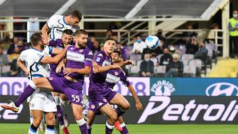 Hasil Liga Italia: Sempat Tertinggal, Inter Milan Sikat Fiorentina