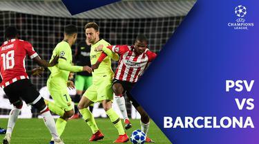 Berita video statistik PSV vs Barcelona pada laga ke-5 Liga Champions 2018-2019, Kamis (29/11/2018).