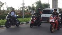 Dua joki balap liar disergap anggota TNI (Instagram/@agoez_bandz4)