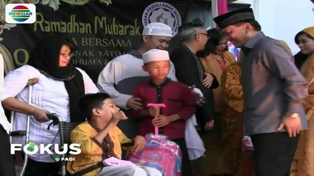 YPAPK bekerjasama dengan Yayasan Peduli Anak Indonesia berbagi kebahagiaan dengan seribu 1000 anak yatim piatu, dhuafa, dan disabilitas.