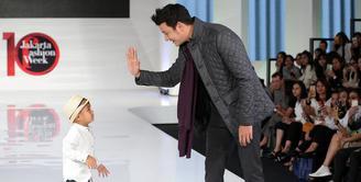 Punya bakat jadi model, Titi Kamal arahkan anak menjadi dokter.