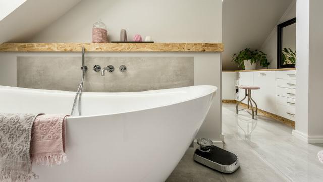 Ilustrasi bathtub bak mandi