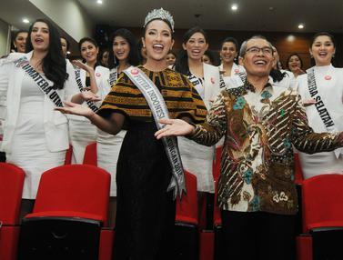 Finalis Puteri Indonesia Sambangi KPK