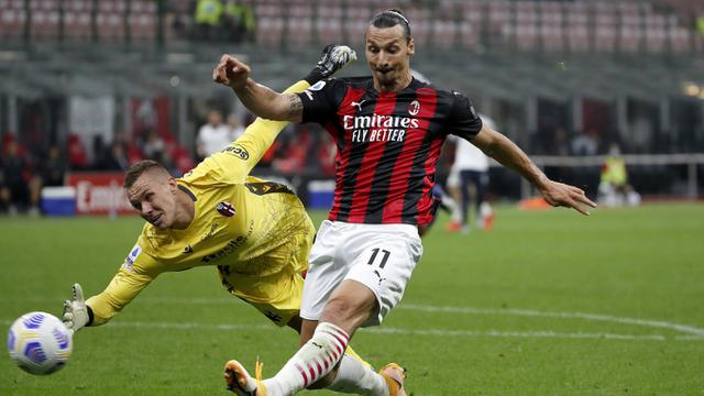 FOTO: AC Milan Taklukkan Bologna di San Siro
