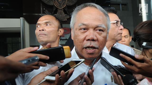 KPK Periksa Menteri PUPR Basuki Hadimuljono