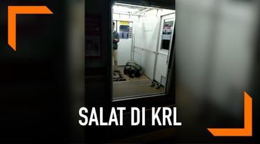 Sebuah video viral di media sosial. Menunjukkan para penumpang KRL jurusan Bogor-Angke yang salat subuh di gerbong KRL. Musala di stasiun diketahui penuh karena banyaknya jemaah yang salat. Oleh karena itu, beberapa penumpang memilih salat di gerbong...