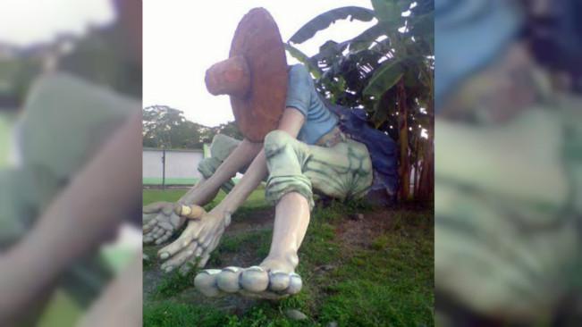 Patung El Silbón di Venezuela. (Sumber Wikimedia Commons)