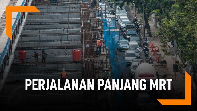 Perjalanan Panjang MRT Jakarta Dari Tahun 1985