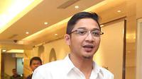 Foto press conference jelang kelahiran anak pasha ungu (Deki Prayoga/bintang.com)