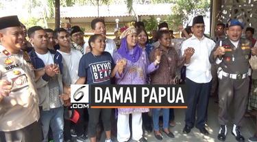 Yenny Wahid mengajak mahasiswa Papua untuk berziarah ke makam Gus Dur di Jombang Jawa Timur hari Rabu (21/8/2019). Ia ingin mengingatkan kembali kedekatan sang ayah dengan warga Papua.