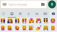 Emoji LGBT di WhatsApp. Liputan6.com/Mochamad Wahyu Hidayat